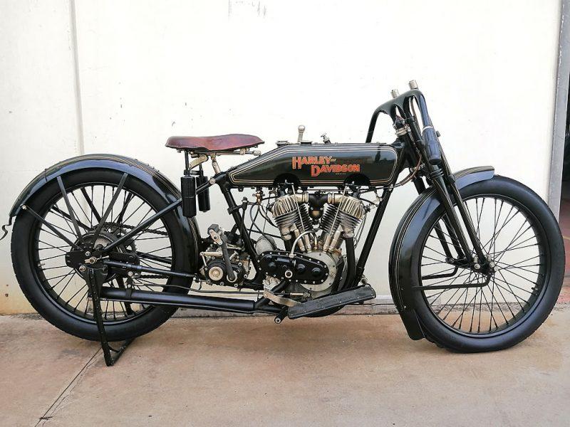 harley model j - 1923