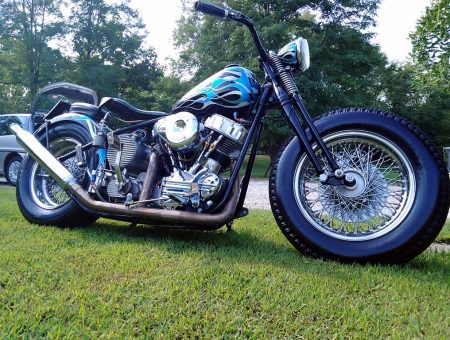 HD PANHEAD BOBBER STROKED